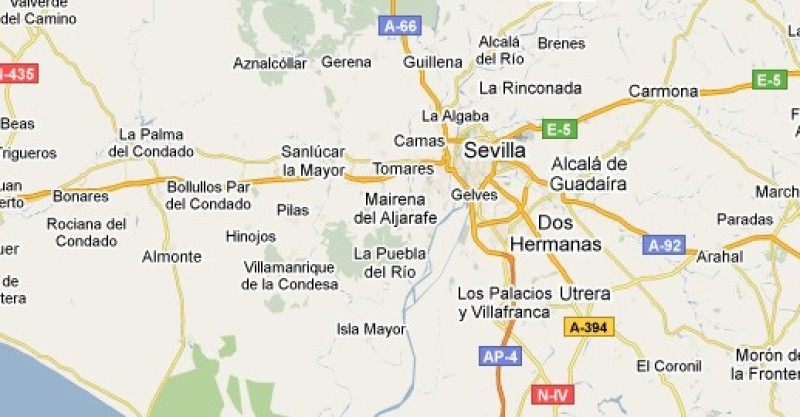 Cómo llegar a Sevilla